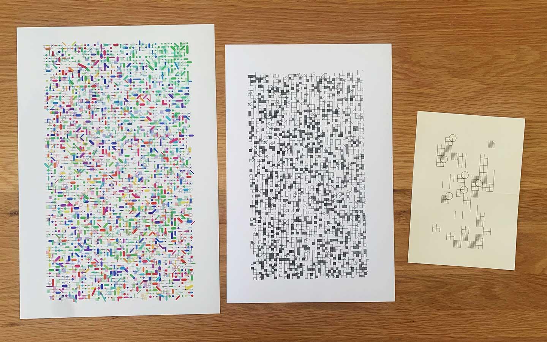 SVG Grid Print